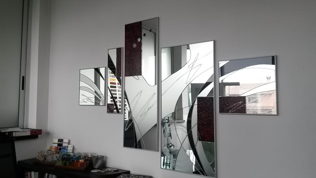 Specchi D Arredo.Specchi E Mensole Vetreria Brunetta